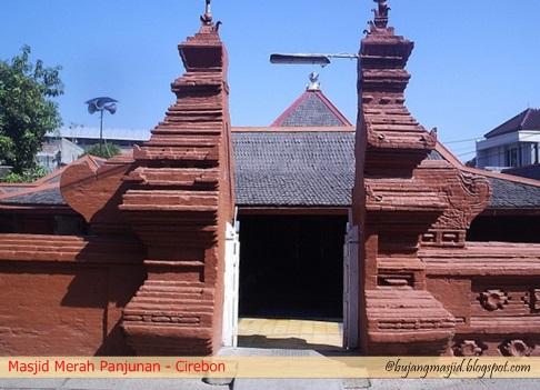 rindu masjid: masjid merah panjunan - cirebon