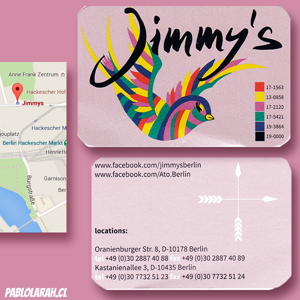 Jimmy's, clothes store, Berlin