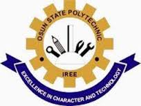 Osun Poly Iree Post-UTME Screening Time-Table Schedule 2019/2020