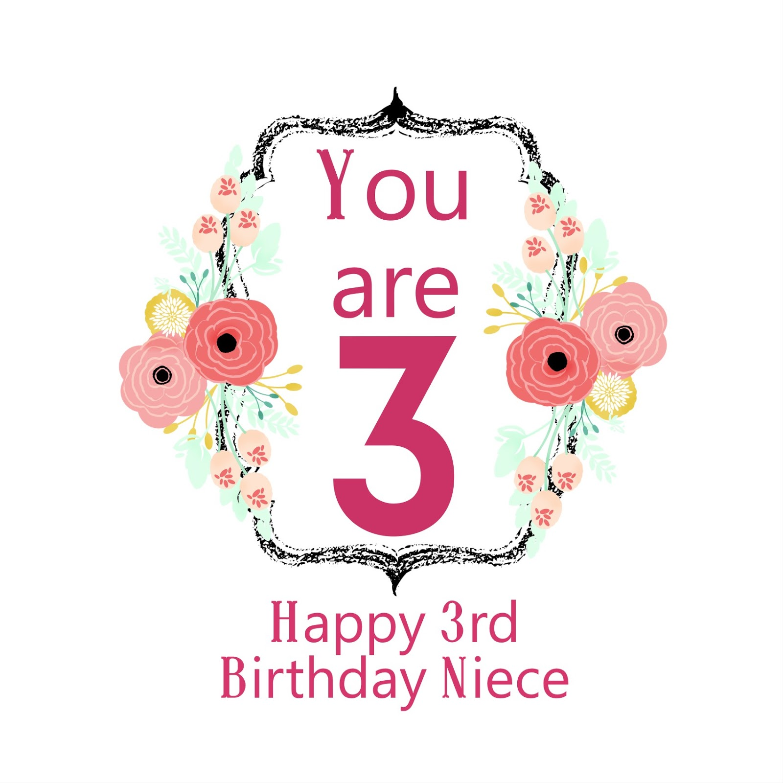 Happy 3rd Birthday Niece Images