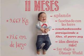 desarrollo del bebe - 11 meses