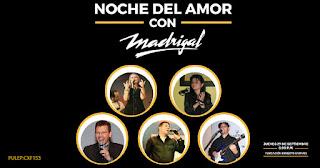 Noche de amor con MADRIGAL | Teatro Ernesto Aronna
