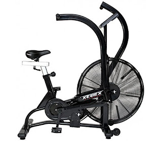 Xebex Air Bike AB-1, review plus buy at low price, top 5 best light commercial air fan exercise bikes