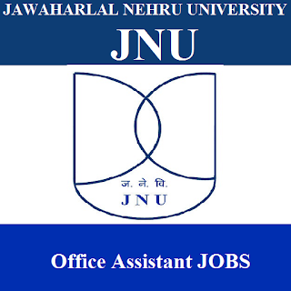 Jawaharlal Nehru University, JNU, New Delhi, Delhi, JNU Delhi, Office Assistant, 10th, freejobalert, Sarkari Naukri, Latest Jobs, jnu logo