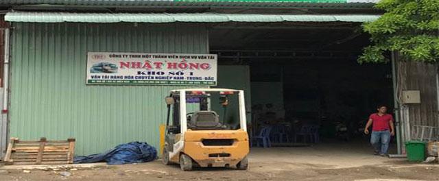 kho Hà Nam nơi giao chuyển hàng đi Hà Nam