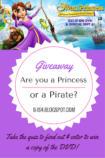 The Swan Princess DVD Giveaway