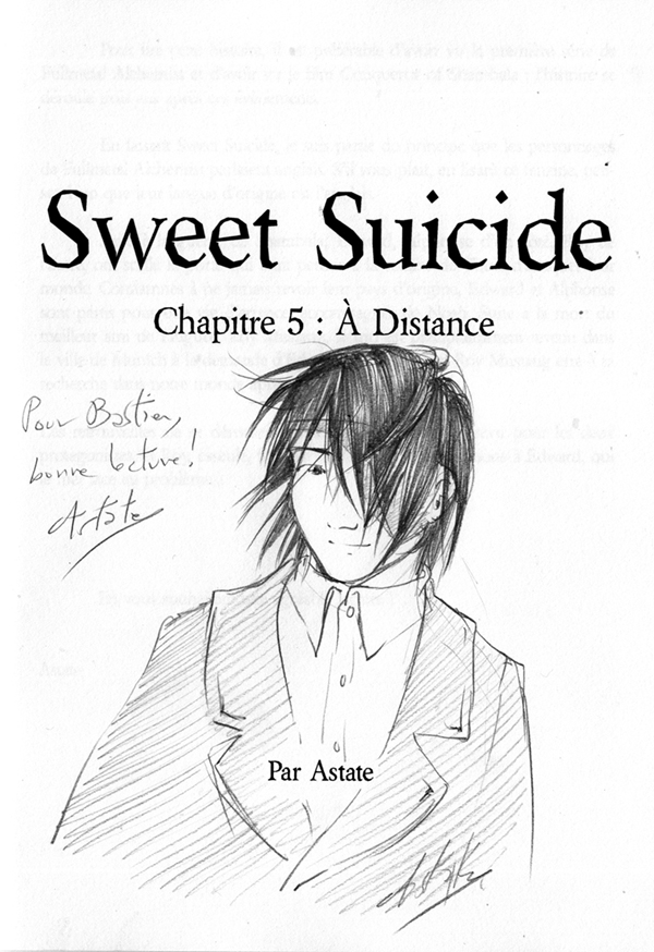 Sweet Suicide, doujin FMA - Roy Mustang