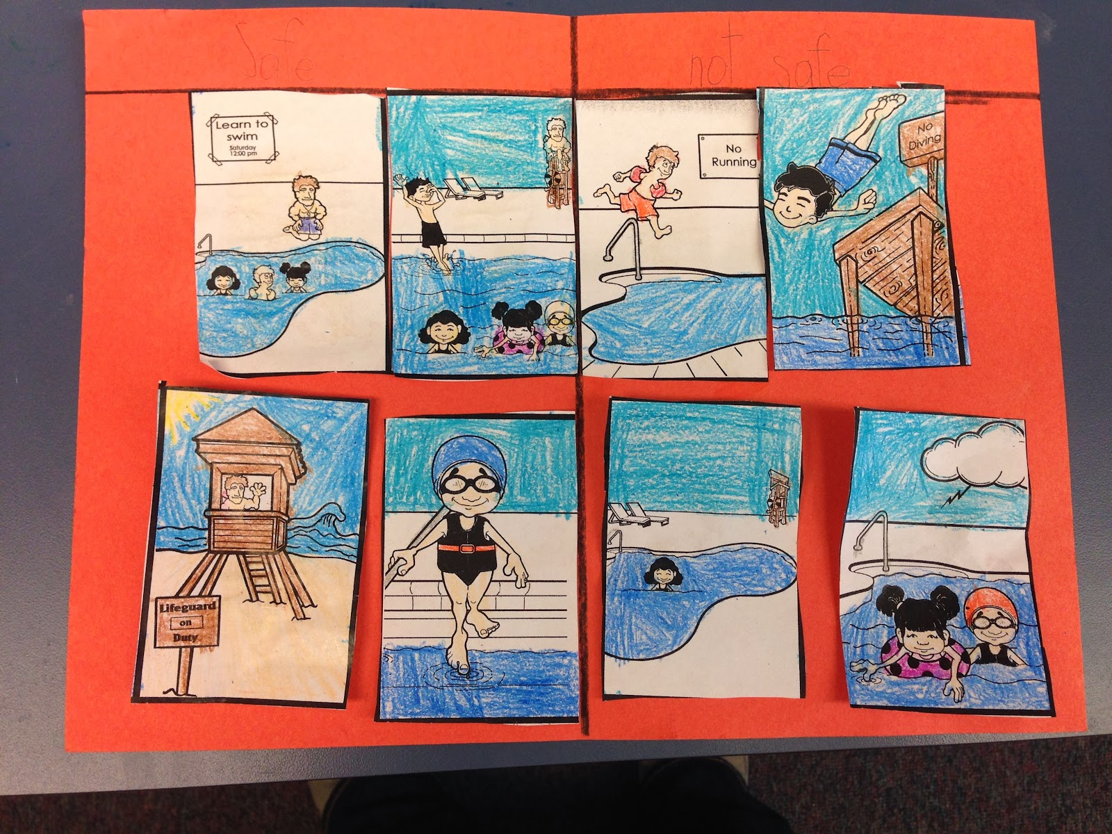 The Pathfinder Post Water Safety In 1st Grade