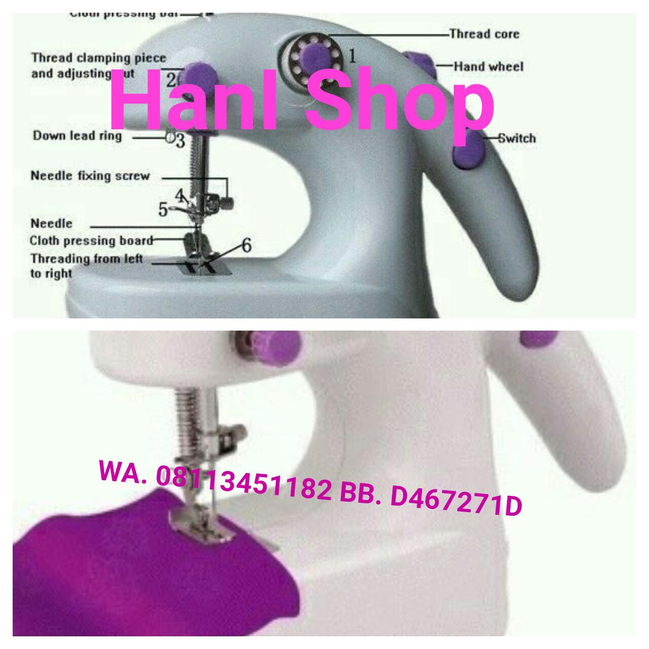 Mesin Jahit Portable Welcome To Hani Shop Hand Reseller Special Price