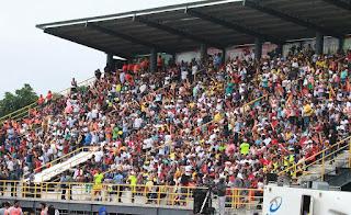 El estadio Olímpico de MOCA FC con más porcentaje de asistencia de la LDF