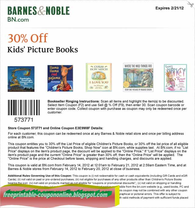 Barnes and noble coupons 25 2018