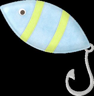 Let´s Go Fishing Clip Art.