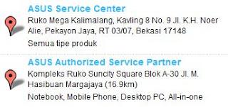 Service Center ASUS bekasi