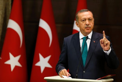 President Erdogan said he would sign a reinstatement of the death penalty if parliament voted for it.