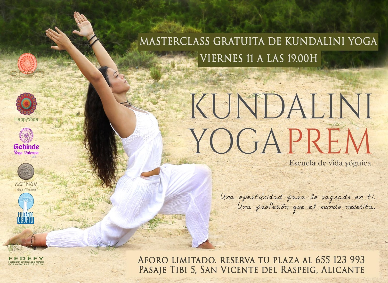 Azucena Molina. Sat Nam Yoga Alicante: Formación de profesores de ...