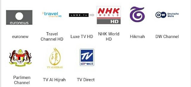 Senarai Saluran dan Pakej HyppTV 2017