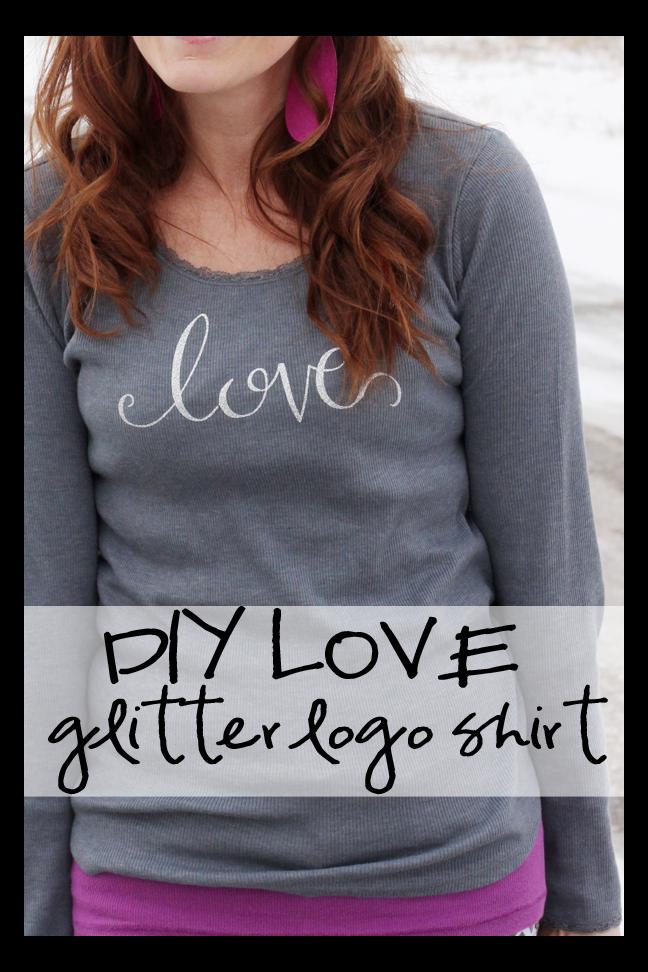 Diy Love Shirt And A Heat Transfer Vinyl How To Tutorial Sugar