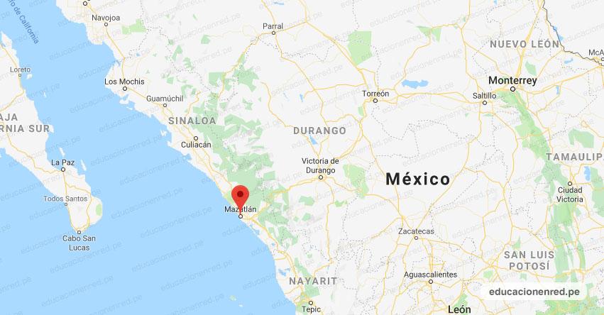 Temblor en México de Magnitud 4.0 (Hoy Sábado 18 Julio 2020) Sismo - Epicentro - Mazatlán - Sinaloa - SIN. - SSN - www.ssn.unam.mx