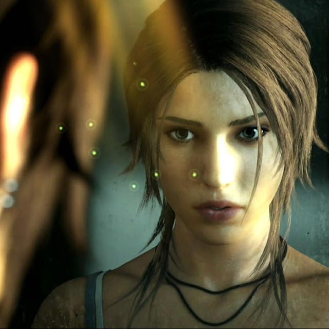 Lara Croft Wallpaper Engine