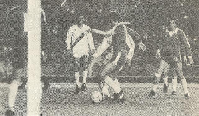 Perú y Chile en Copa del Pacífico 1983, partido de ida