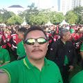 """Perkumpulan """"Macan Siliwangi"""" Hadiri Apel Besar Pengamanan Pemilu 2019 di Lapangan Gasibu"""