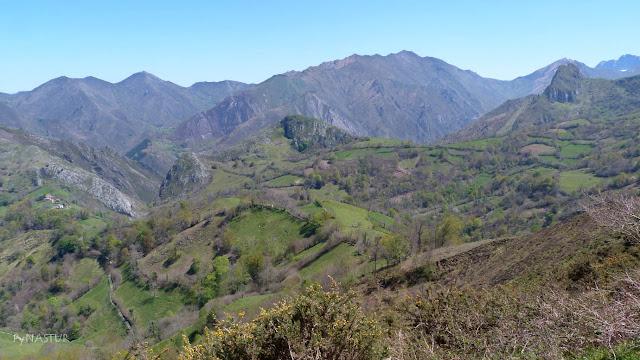 Montes de piloña - Sierra de Las Aves