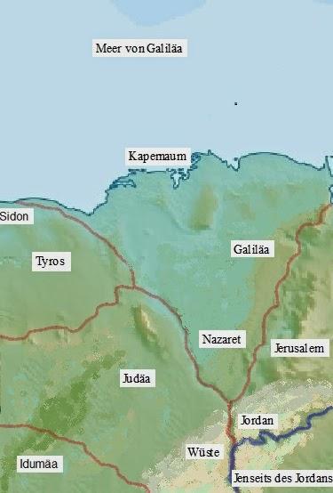 Jerusalem Karte Welt.Katὰ Mᾶrkon Konstruktion Von Welt Bei Markus