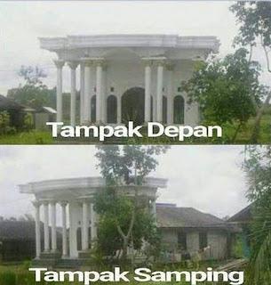Design Rumah Paling Unik di Dunia dan Indonesia ini Jadi Viral di Internet