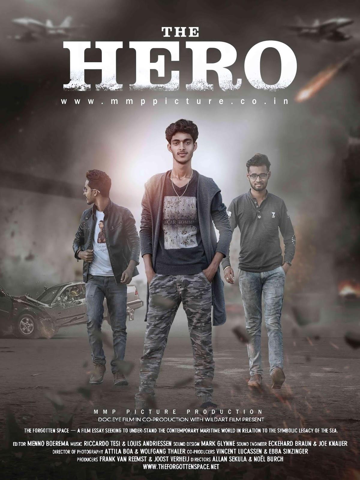 Picsart The Hero Action Movie Poster Design Tutorial Picsart Movie