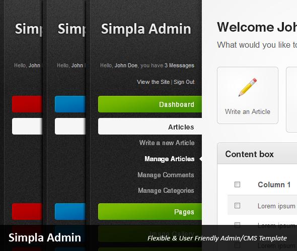 40 free and premium admin html/css website templates | ginva.