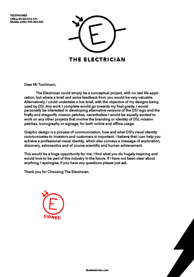 Letterhead examples electricians professional resume cv maker letterhead examples electricians 16 beautiful examples of letterhead design creative bloq uses the branding as a spiritdancerdesigns Gallery
