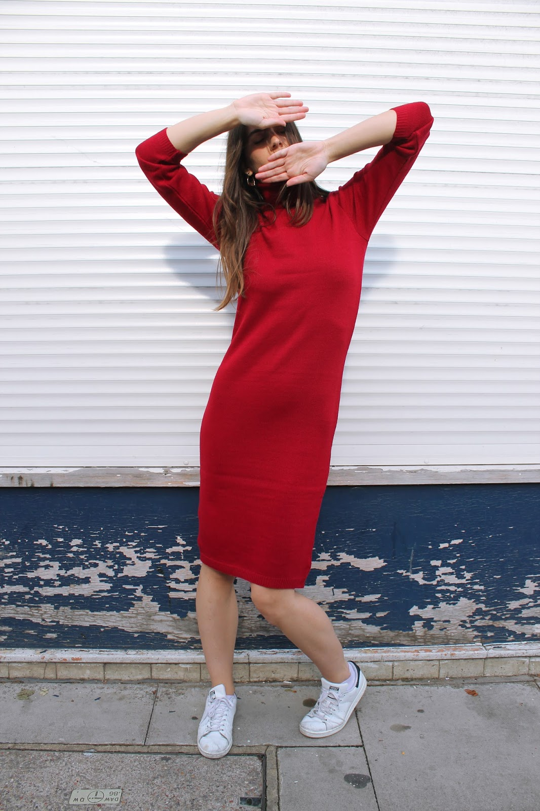 VIDEO clothing, knitwear, knit, fbloggers, knit dress, greek brand