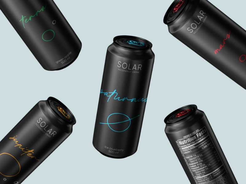 'SOLAR' Neoenergy Drink