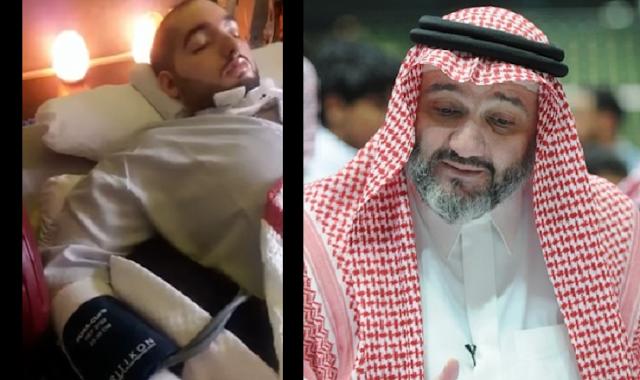 بعد غيبوبة 11 عاماً الامير النائم يظهر ردة فعل اخيرا شاهد فرحة والده الامير طلال شاهدو الفيديو الذي نشره والده على تويتر