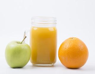 Minuman Penambah Darah - Jus Apel dan Jus Jeruk