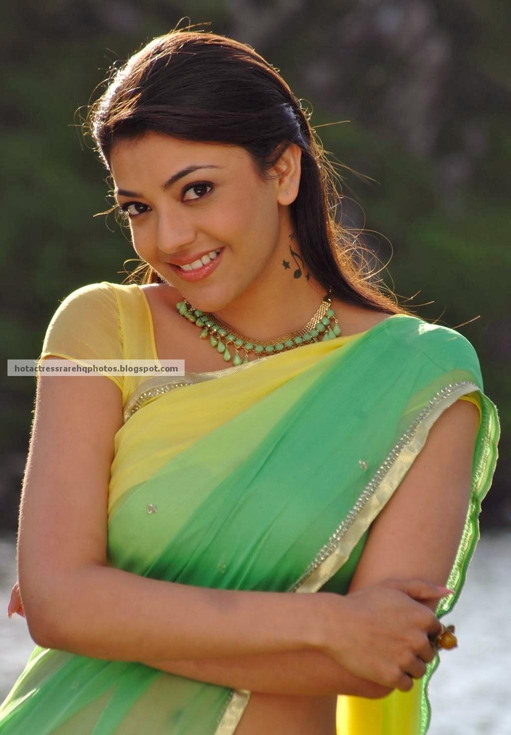Hot Indian Actress Rare Hq Photos Actress Kajal Agarwal -9381