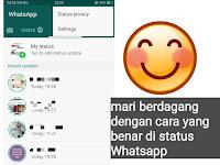Seberapa efektif status Whatsapp jika digunakan untuk berjualan