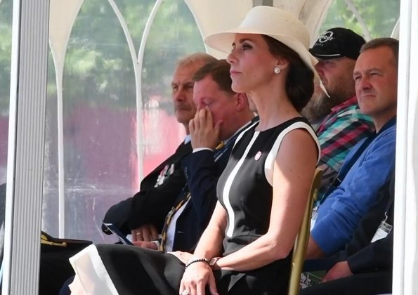 Princess Marie wore Tara Jarmon Crepe Wool Dress Black. DEMA's relief convoy was attacked near Maglaj in Bosnia. Two Danes and local translator lost their lives