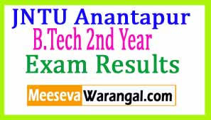 JNTU Anantapur B.Tech 2nd Year 2nd R13/R09  Supply Dec 2016 Exam Results