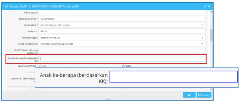 Tampilan Baru dan Cara Mengisi / Entry Data di Aplikasi ...