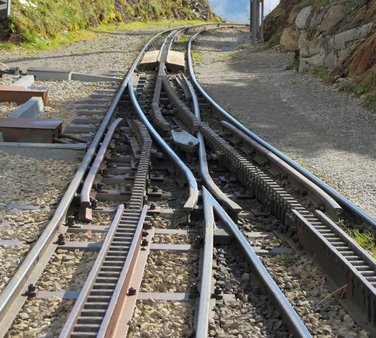 What is Points And Crossing in Railway Engineering? ~ The ...