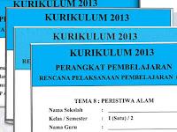 RPP Kurikulum 2013 Kelas 1 SD Semester Genap Revisi Tahun 2016 Terbaru dan Lengkap