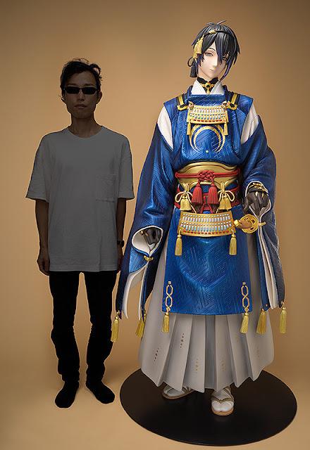 """Munechika Mikazuki 1/1 de """"Touken Ranbu -ONLINE-"""" - ORANGE ROUGE"""
