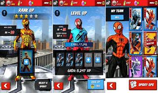 player akan bermain sebagai Spiderman yang harus menyelamatkan kota New York dari seranga Unduh Game Android Gratis Spiderman Unlimited apk + data