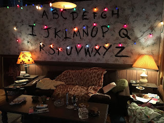 El set de rodaje para la casa de la familia Byers - Stranger Things