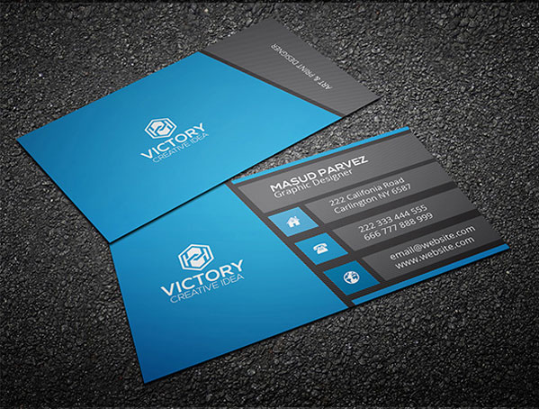 Aroma & Corporate Business Card Free