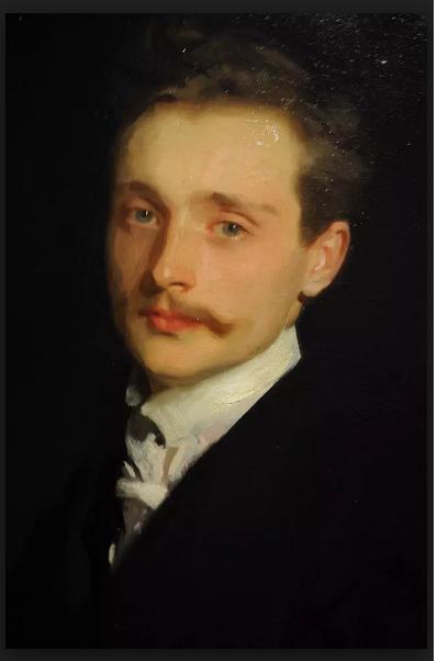 Léon Delafosse, một người đàn ông ăn mặc chỉn chu