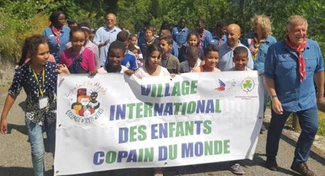 """الكشافة الفرنسية تستقبل مجموعة من الأطفال الصحراويين بمنطقة """"بيريني"""""""