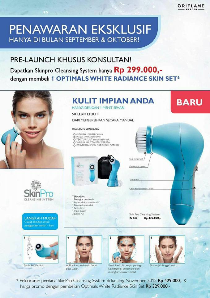 Skin Care Alami | Optimals Set | NovAge Set: Oriflame