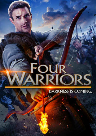 The Four Warriors 2015 Dual Audio Hindi 300MB BluRay 480p